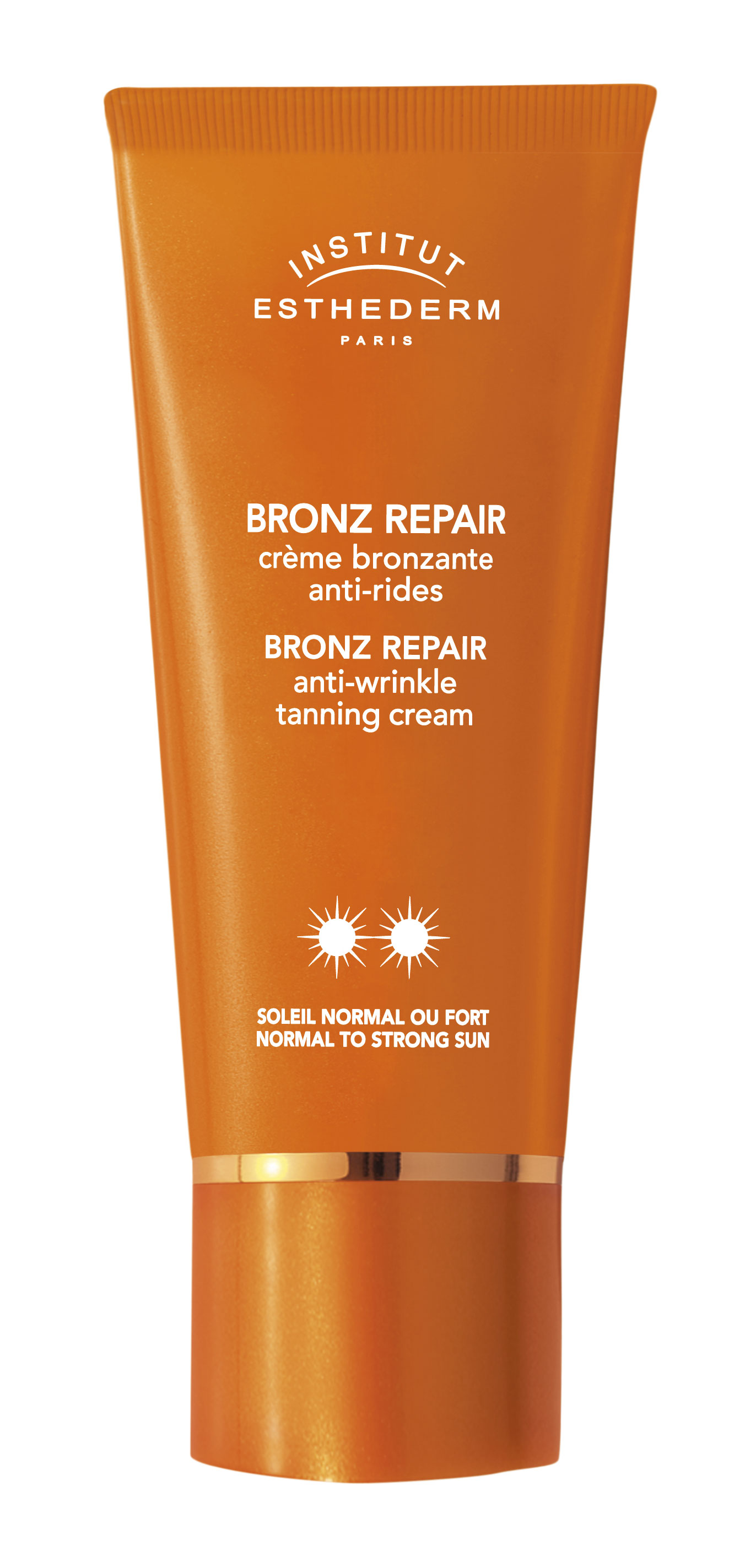 Institut Esthederm Bronz Repair Crème Bronzante Anti-Rides Soleil Normal Fort