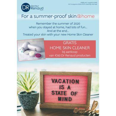 Gratis Home Skin Cleaner bij aankoop €60, aan Dr Renaud producten
