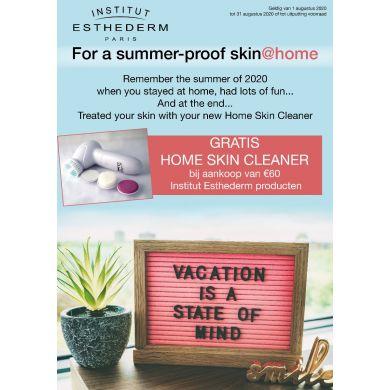 Gratis Home Skin Cleaner bij aankoop €60,- aan Institut Esthederm producten