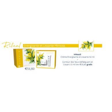 Rituel Crème Energisant Lissant Mimosa + Contour Yeux Défatiguant Lissant