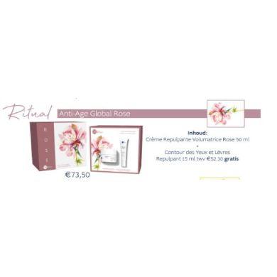 Dr Renaud Rituel Crème Repulpante Volumatrice Rose + Contour des Yeux & Levres Rose